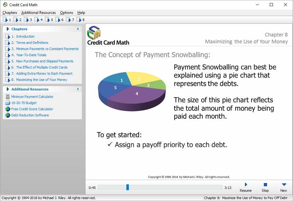 credit card math